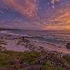 Sunset on Asilomar State Beach, Pacific Grove, California