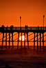 Sunset at Oceanside Pier  (Suggested formats 8X12, 12X18, 16X24 and 24X36)