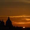 Santa Maria della Salute at sunset, Venice, Italy