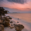 Sunrise along the Sanibel Causeway, Sanibel Island, Florida