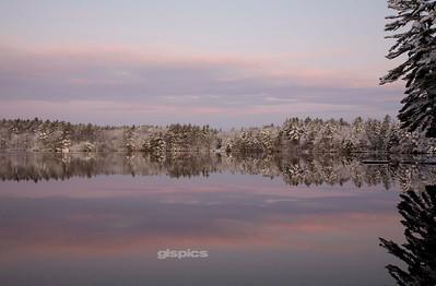 Winter Sunrise Reflections