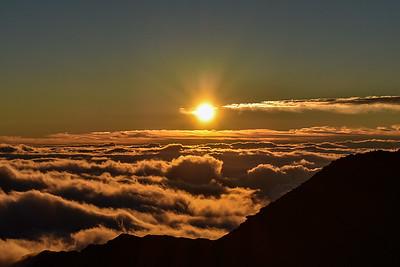 Haleakala Sunrise, Maui, Hawaii