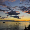 Sunset in Northeast Harbor, Deer Isle, Maine
