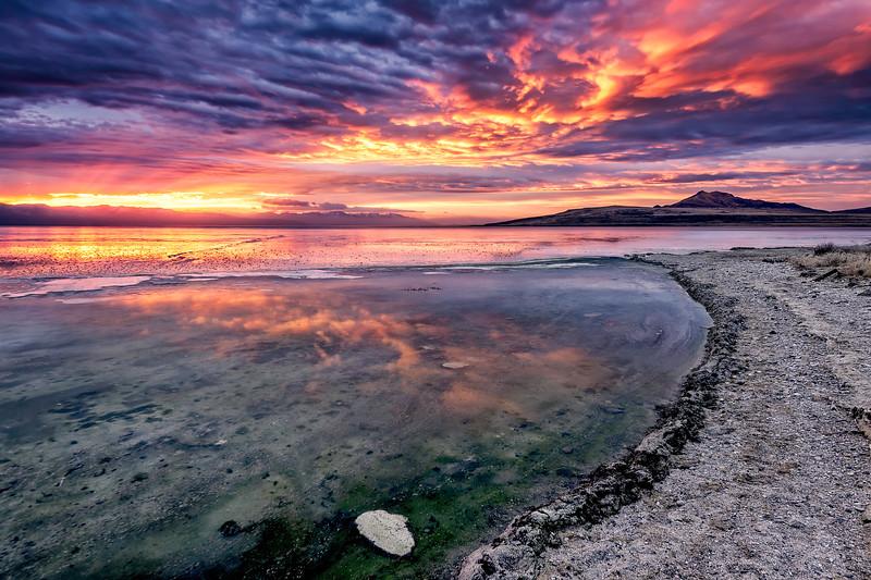Antelope Island Sunrise
