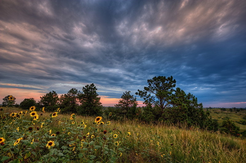 Sunrise in Fort Niobrara National Wildlife Refuge, Nebraska