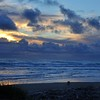 Sunset on Kalaloch Beach, Olympic National Park, Washington