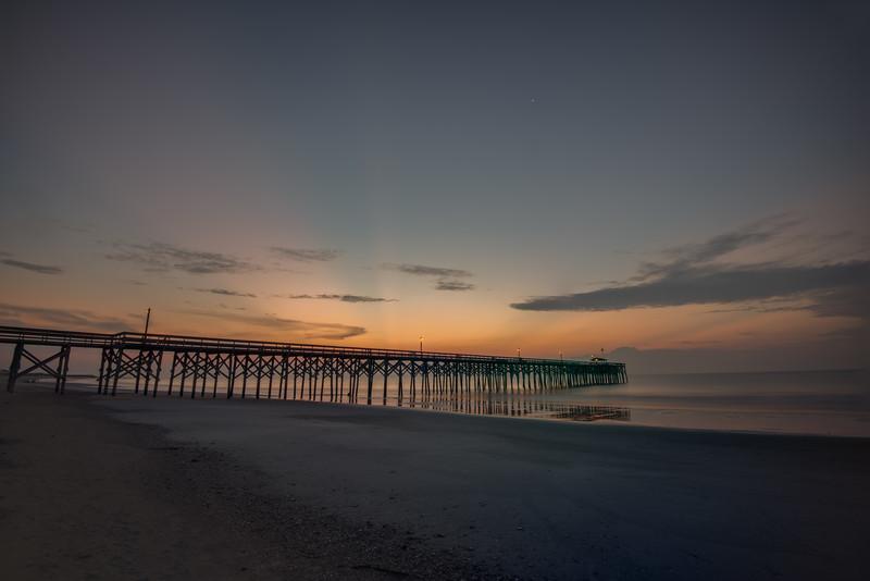 Morning, Pawley's Island Pier