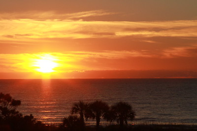 Sunrise on Hilton Head Island, S.C.