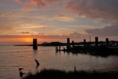 Sunset on Hatteras Island, NC