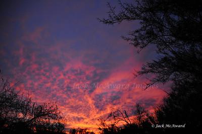 Sunset Fire WM