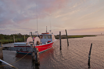 Sunset on Hatteras Island, NC
