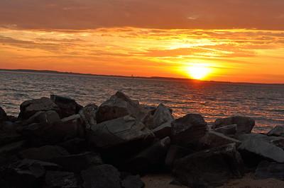 Sandy Point State Park sunrise