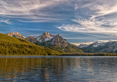 Stanley Lake Sunrise