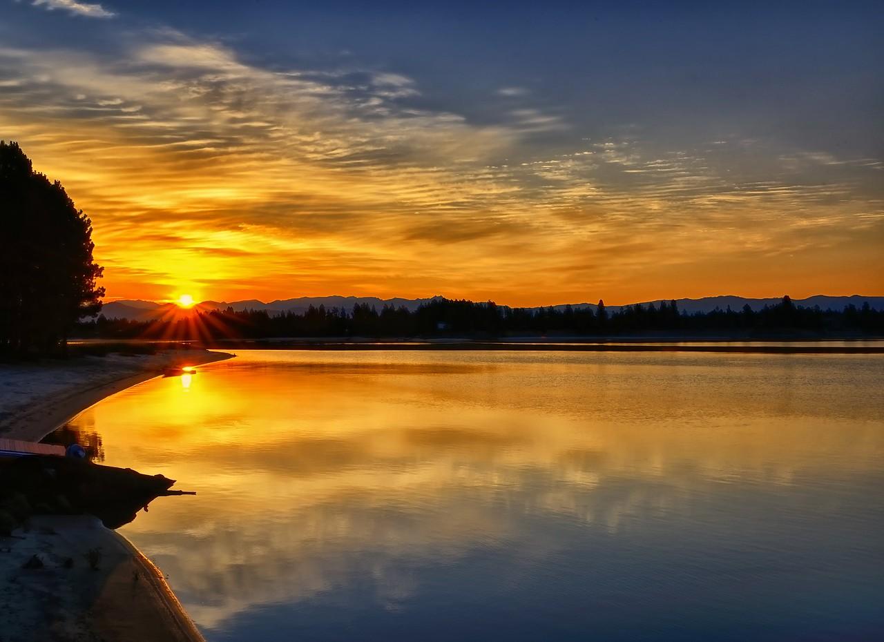 Lake Cascade Sunrise