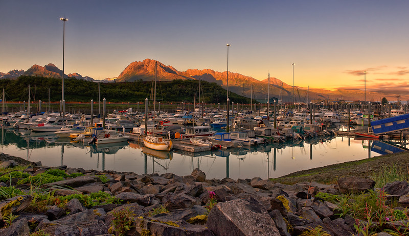 Valdez Marina Morning
