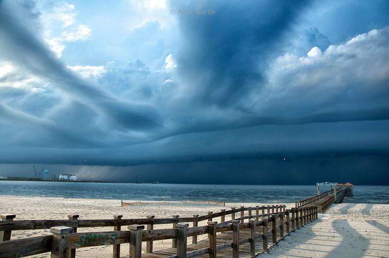 Pier-WestsideSpaceship Clouds