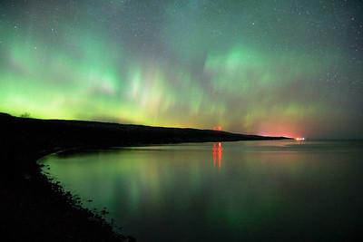 St  Patricks Day Aurora Over Grand Marais 002