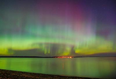 Aurora Lake Superior South Shore 003
