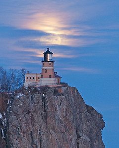 Split Rock Moonrise 3