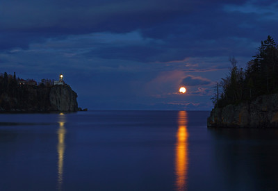 Split Rock Moonrise 37