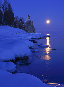 Valentines Day Moonrise 009