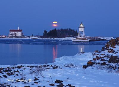 Grand Marais Moonrise 6