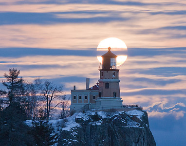 Split Rock Moonrise 7