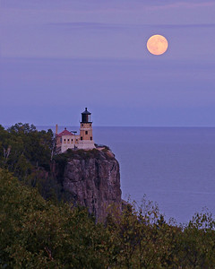 Split Rock Moonrise 9