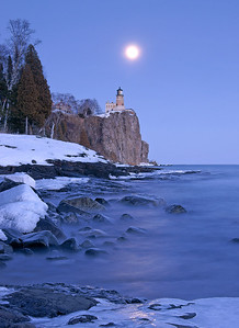 Split Rock Moonrise 16