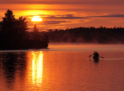 Canoe Country Sunrise 1