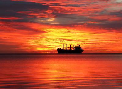 Duluth Harbor Sunrise 11