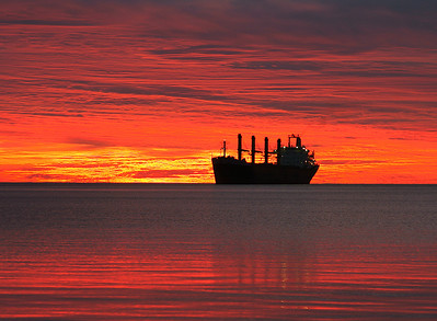 Duluth Harbor Sunrise 9