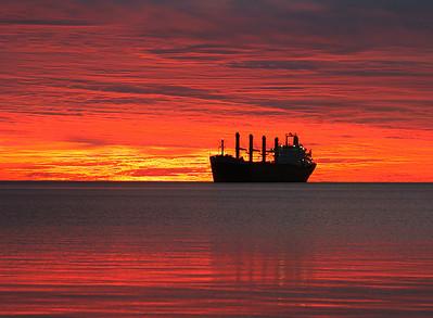 Duluth Harbor Sunrise 9