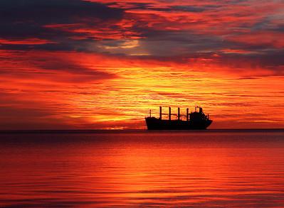 Duluth Harbor Sunrise 5