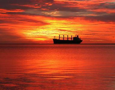 Duluth Harbor Sunrise 3