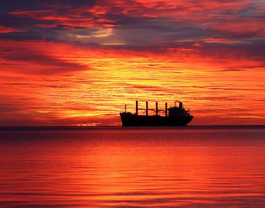 Duluth Harbor Sunrise 6