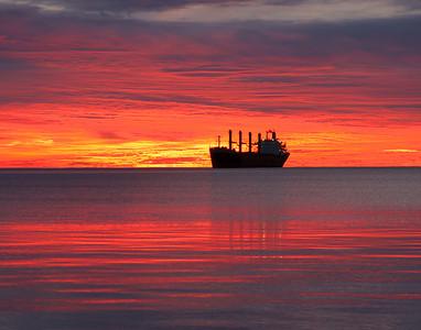 Duluth Harbor Sunrise 7