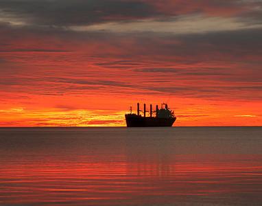 Duluth Harbor Sunrise 1