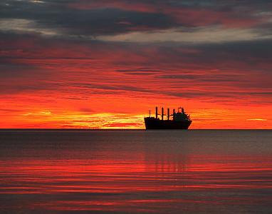 Duluth Harbor Sunrise 8
