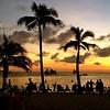 Boracay silhouettes