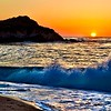 Sunset at Monastery Beach