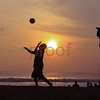 Indonesian beach: Kuta woman bikini