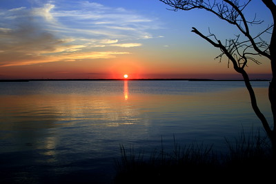 """""""Sunset Over the Sound"""""""