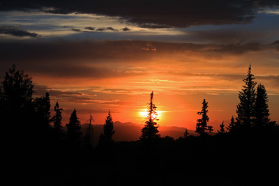 """Sunset at Monte Cristo"""
