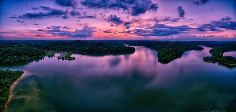 Lavender Sunset