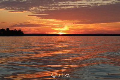 Lake Kabetogama Sunset