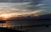Pensacola Dock at Sunset