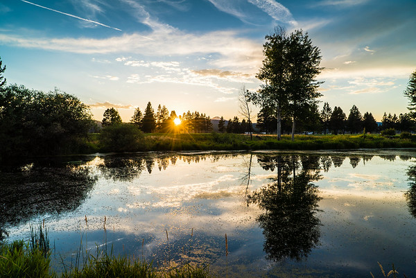 Sunriver sunset