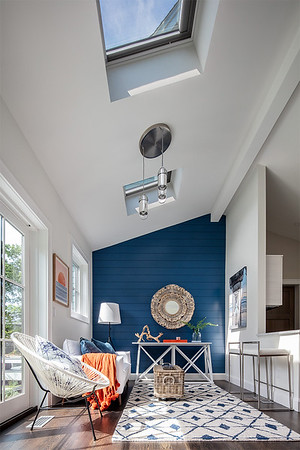 Velux product installation at Eastham MA home. USE: Full Buyout, Unlimited time. Web-Res image