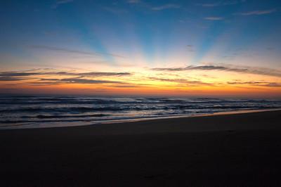 The Dawning Gamble Rogers Memorial State Park,  Flagler Beach, Florida January 2014